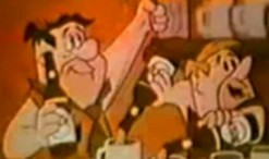 Old 1960s TV Commercial - Beer - Flintstones Sell Busch Beer for Budweiser