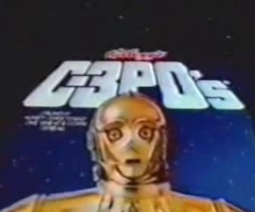 Old 1980s TV Commercial - Cereal - Star Wars Cereal