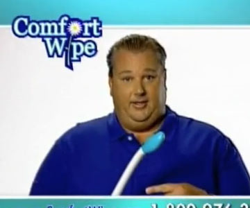 Old 2000s TV Commercial - Infomericals - The Comfort Wipe