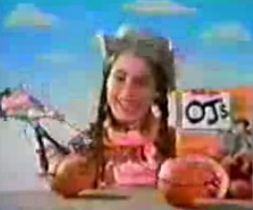 Old 1980s TV Commercial - Kellogg's OJ's Cereal