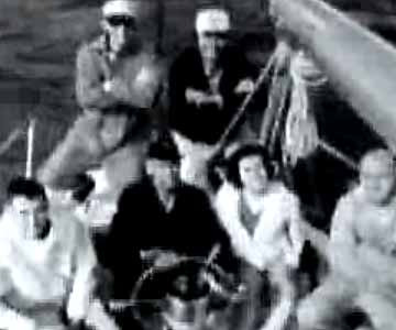 Old 1960s TV Commercial - LM Cigarettes - Sailing to the LM Side