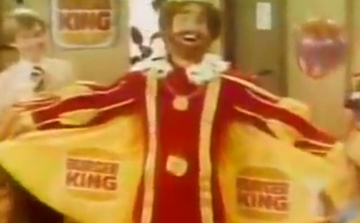 The Original Real Life Burger King Commercial from 1978