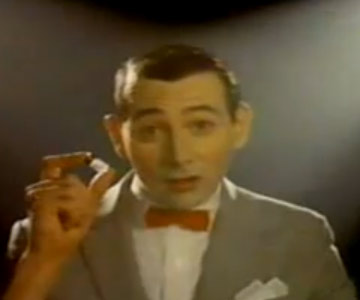 "Old 1980s / 1990s TV Commercial - Pee-Wee Herman says ""Don't Do Crack"""