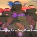 Don't Smoke Pot – Teenage Mutant Ninja Turtles PSA