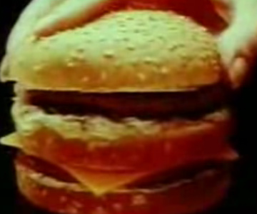 Old 1970s TV Commercial - MCDonalds - Big Mac Jingle