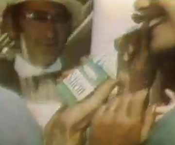 Old 1970s TV Commercial - Salem Cigarettes - Can't Take the Country out of Salem