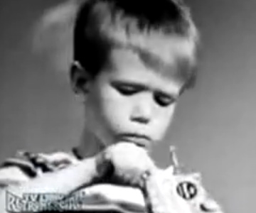 Old 1960s TV Commercial - Cracker Jacks - That's What You Get in Cracker Jack