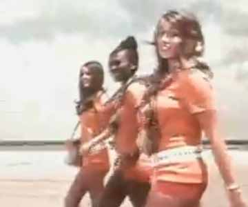 Old 1970s TV Commercial - Southwest Airlines - Hostesses in Hotpants