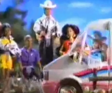 Old 1990s TV Commercial - Barbie Golden Dream Motor Home