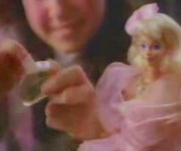 Old 1980s TV Commercial - Perfume Pretty Barbie