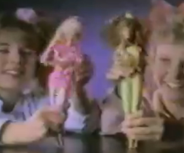 Old 1980s TV Commercial - Barbie and the Rockers