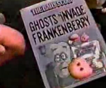 Old 1980s TV Commercial - Frankenberry Cereal