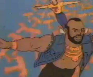 Old 1980s TV Commercial - Mr. T Cereal - Teamin' Up With Mr. T