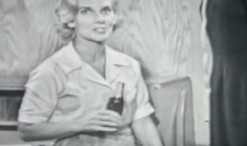 Old 1960s TV Commercial - Coca Cola is Great for Weight Loss!