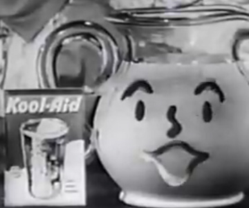 Old 1950s / 1960s TV Commercial - Kool-Aid Commercial from the 1950's