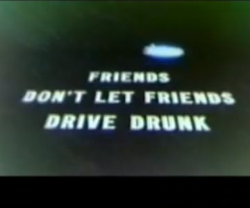 Old 1970s TV PSA Commercial - Don't Drink and Drive - A Star Wars Special