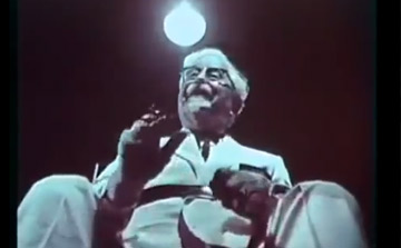 KFC Colonel Sanders Creepy Lie Detector Commercial