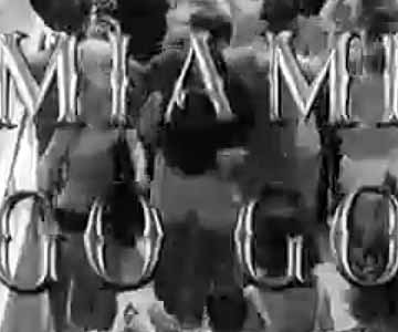 Old 1960s TV Commercial - National Airlines - Go-Go Miami Commercial