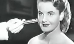 Old 1950s TV Commercial - Dorothy Gray - Radioactive Cold Cream