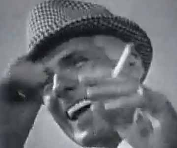 Old 1960s TV Commercial - Lucky Strike - He Eats His Hat