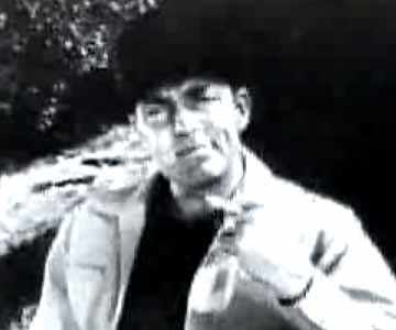 Old 1950s TV Commercial - Pall Mall Cigarette Commercial - Dale Robertson