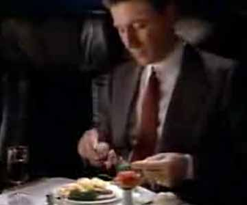 Old 1980s TV Commercial - Pan Am Commercial - First Class