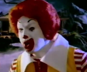 Old 1990s TV Commercial - What is Ronald McDonald Going to Be For Halloween?