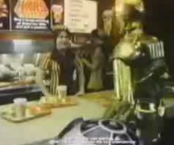 Old 1970s TV Commercial - Burger Chef - Get a Star Wars Poster!