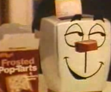Old 1970s TV Commercial - Pop Tarts - Milton the Toaster