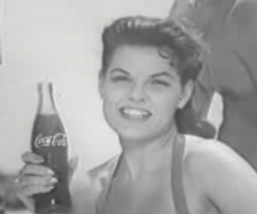 Old 1950s TV Commercial - Soda - King Size Coca Cola