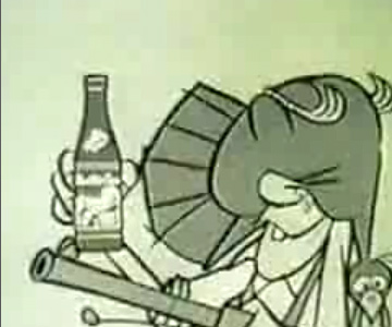Old 1960s TV Commercial - Mountain Dew - Willie the Hillbilly