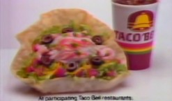 Taco Bell Seafood Salad - 1980s Commercial