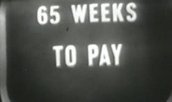 Old 1950s TV Commercial - Motorola Finances Your New TV for 65 Weeks