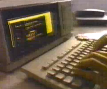 Old 1980s TV Commercial - Magnavox Video Writer