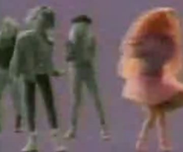 Old 1990s TV Commercial - Barbie is into Jeans (UK Commercial)