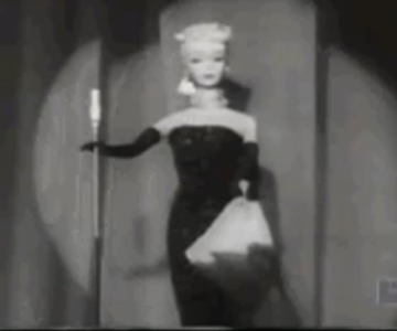 Old 1950s TV Commercial - First Barbie Doll Commercial from 1959