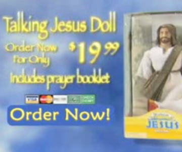 Old 2000s TV Commercial - The Talking Jesus Doll