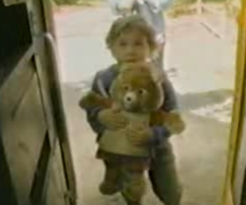 Old 1980s TV Commercial - Teddy Ruxpin - Bus Ride