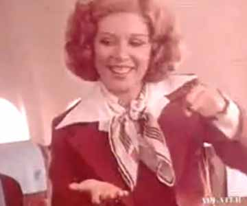 Old 1980s TV Commercial - United Airlines - Nancy's First Day