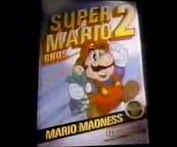 Old 1980s TV Commercial - NES - Super Mario 2