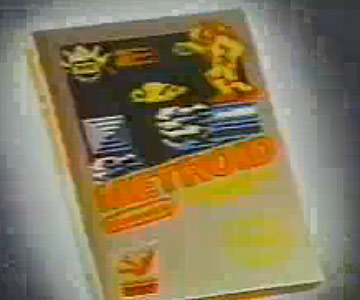 Old 1980s TV Commercial - NES - Metroid and Rad Racer